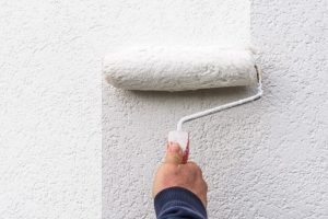 how to paint a stucco house